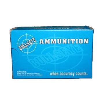 Bullseye 38 Special 158 Grain Semi Wadcutter +P Reloaded Handgun Ammo (50)