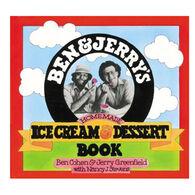 Ben & Jerry's Homemade Ice Cream & Dessert Book By Ben Cohen, Jerry Greenfield & Nancy Stevens