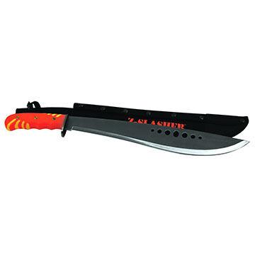 Texsport Zombie Slasher Machete Knife w/ Sheath