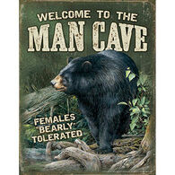 Wild Wings Man Cave Tin Sign