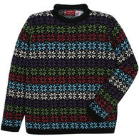 Binghamton Knitting Women's Snowflake Rollneck Sweater