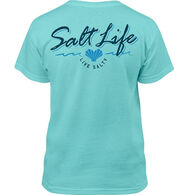 Salt Life Girl's Heart Life Short-Sleeve T-Shirt