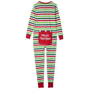Hatley Mens Christmas Stripe Union Suit