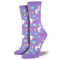 Socksmith Women's Unicorn Crew Sock