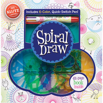 Klutz Spiral Draw Book Kit by The Editors of Klutz
