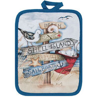 Kay Dee Designs Beach Signs Pot Holder