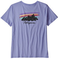 Patagonia Women's Free Hand Fitz Roy Organic Cotton Crew Short-Sleeve T-Shirt
