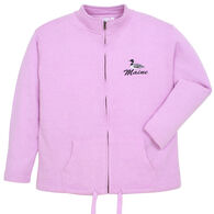 ESY Women's Maine Loon Full Zip Sweatshirt