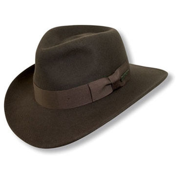 Dorfman Pacific Mens Indiana Jones Outback Hat