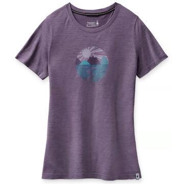 SmartWool Womens Merino 150 Sport Sunset Stream Graphic Short-Sleeve T-Shirt