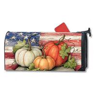 MailWraps Patriotic Pumpkins Magnetic Mailbox Cover
