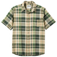 Mountain Khakis Men's Tomahawk Madras Short-Sleeve Shirt