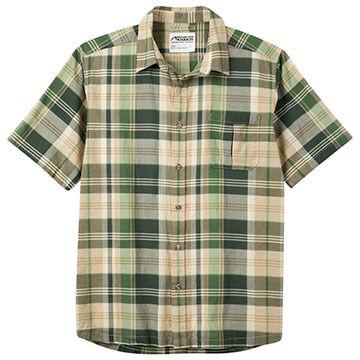 Mountain Khakis Mens Tomahawk Madras Short-Sleeve Shirt