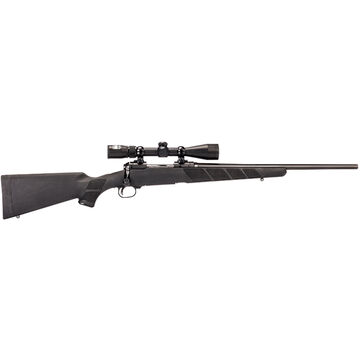 Savage Youth 11 Trophy Hunter XP Compact 243 Winchester 20 4-Round Rifle Combo