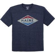 Lakeshirts Men's Blue 84 Lobster Short-Sleeve T-Shirt