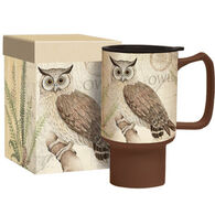 Lang Owl Sanctuary Travel Ceramic Mug