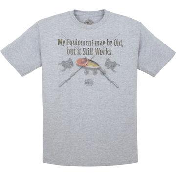 Direct Impulse Design Mens Old Equipment Short-Sleeve T-Shirt