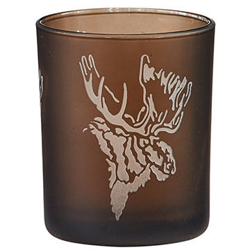 Park Designs Tranquility Moose Votive Candle Holder