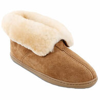 Minnetonka Women's Sheepskin Ankle Boot Slipper