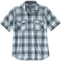 Carhartt Men's Rugged Flex Relaxed Fit Lightweight Snap-Front Short-Sleeve Shirt