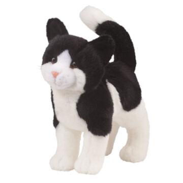 Douglas Company Plush Black & White Cat - Scooter