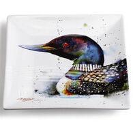 Big Sky Carvers Loon Snack Plate