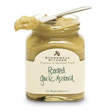 Stonewall Kitchen Roasted Garlic Mustard, 8 oz.