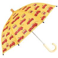 Hatley Boy's Vintage Fire Trucks Umbrella