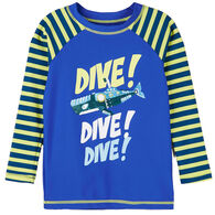 Hatley Toddler Boy's Animal Subs Long-Sleeve Rashguard