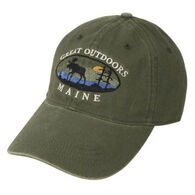 Ouray Men's Moose Oval Canyon Twill Cap