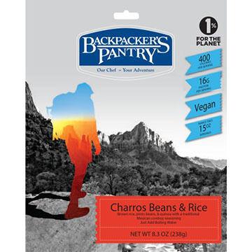 Backpacker's Pantry Charros Beans & Rice - 2 Servings