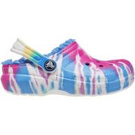 Crocs Boys & Girls' Classic Lined Tie-Dye Graphic Clog