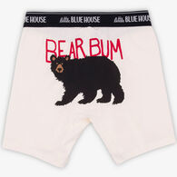 Hatley Little Blue House Men's Bear Bum Boxer