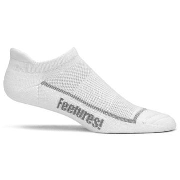 Feetures! Mens Original Athletic No Show with Tab Sock