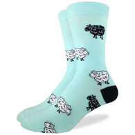 Good Luck Sock Men's Sheep Crew Sock
