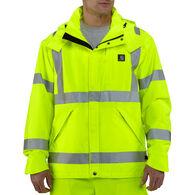 Carhartt Men's Big & Tall High-Visibility Class 3 Waterproof Jacket