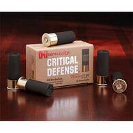 """Hornady Critical Defense 12 GA 2-3/4"""" 8 Pellet 00 Buckshot Ammo (10)"""