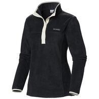 Columbia Women's Three Lakes Half Snap Pullover Fleece Top