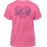 Salt Life Girls' Seashell Love Short-Sleeve T-Shirt