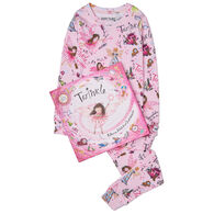 Books To Bed Twinkle Pajama & Book Set