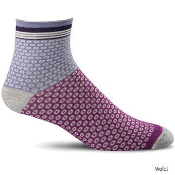 Goodhew Womens Cheery Os Quarter Sock