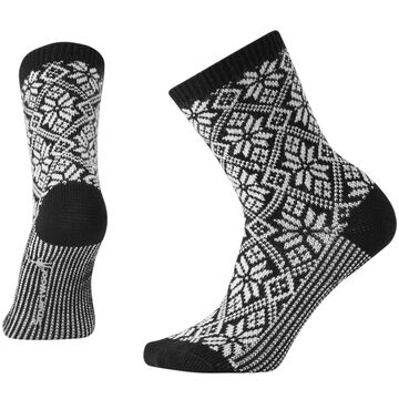 SmartWool Womens Traditional Snowflake Crew Sock