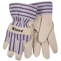 Kinco Boys' & Girls' Lined Ultra-Suede Glove w/Knit Wrist
