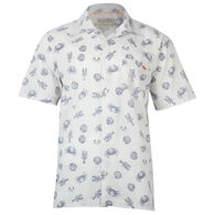 Salt Life Men's Seafest Woven Short-Sleeve Shirt