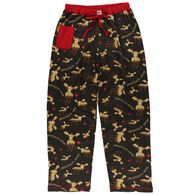 Lazy One Women's Chocolate Moose PJ Pant