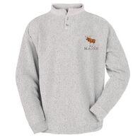ESY Men's Moose Two Button Henley Sweatshirt