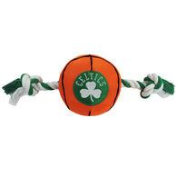 Pets First Boston Celtics Nylon Basketball Dog Toy