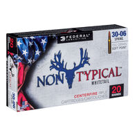 Federal Non-Typical 30-06 Springfield 150 Grain Soft Point Rifle Ammo (20)