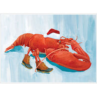 Allport Editions Lobster Claus Boxed Holiday Cards