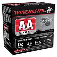 """Winchester AA Steel 12 GA 2-3/4"""" 1 oz. #7-1/2 Shotshell Ammo (25)"""